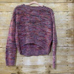 Wild Fable multi color fuzzy pullover XS
